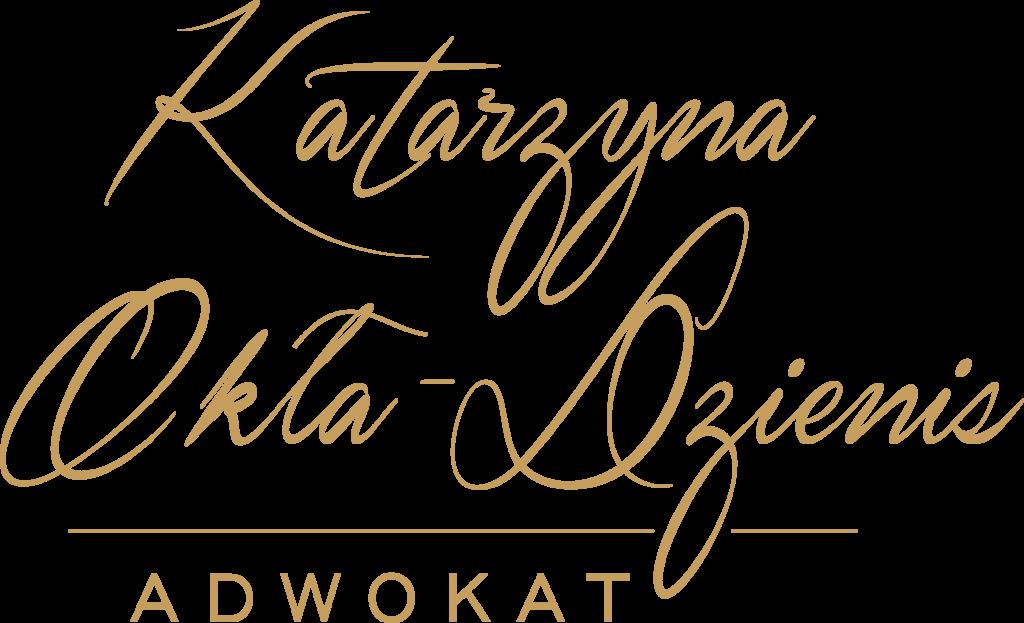 Kancelaria Adwokacka Adwokat Katarzyny Okła Dzienis Logo
